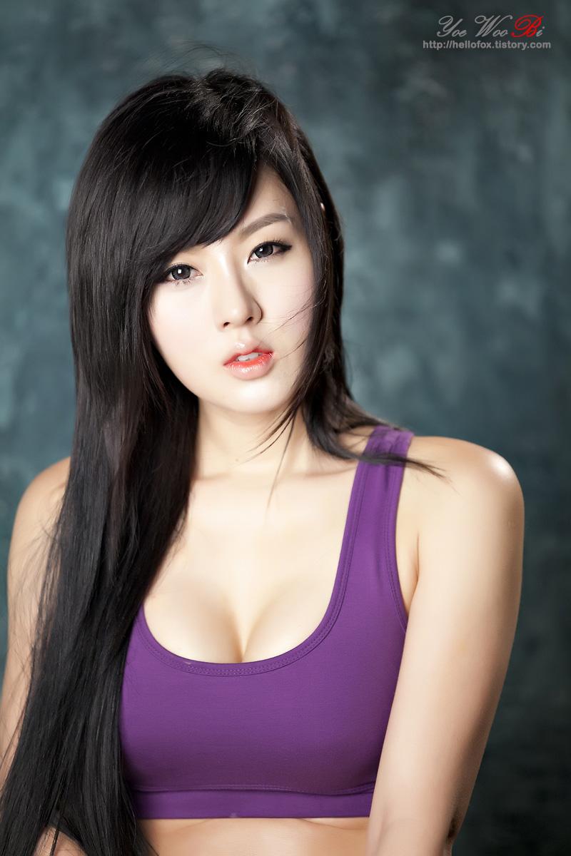 Very pretty in korean