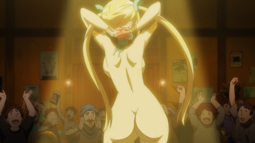 naked Anime lucy