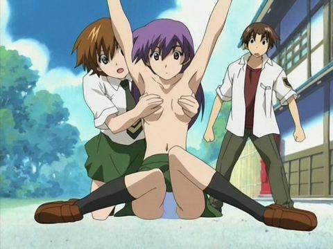 Anime green green nude