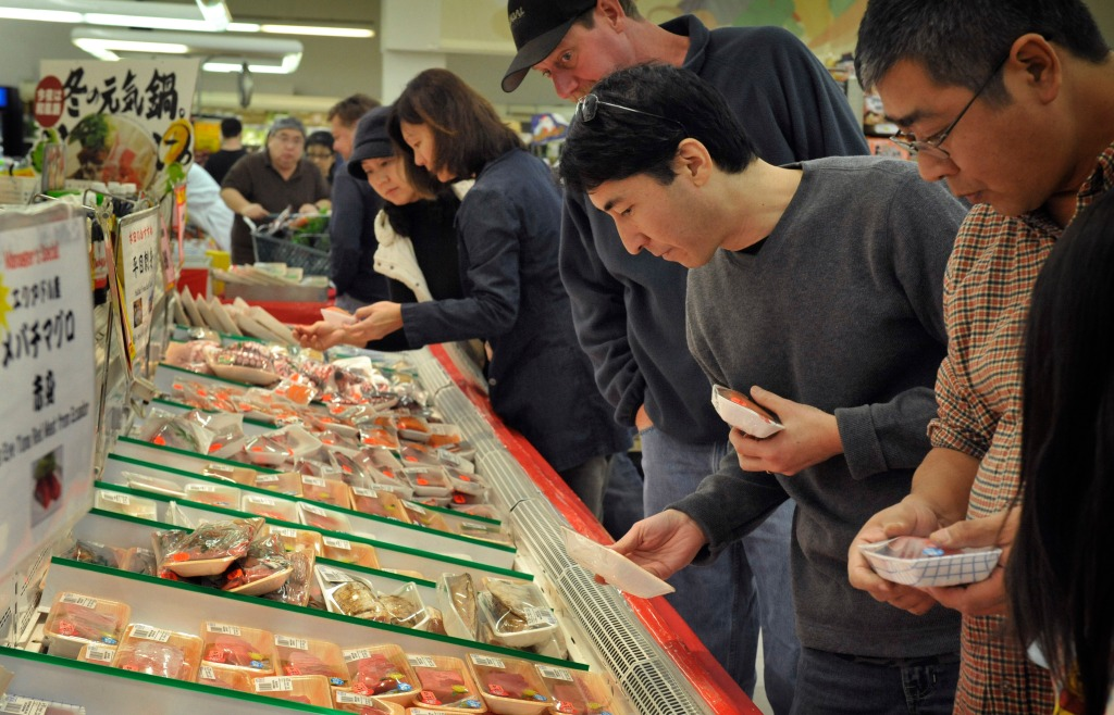 supermarket county Asian orange