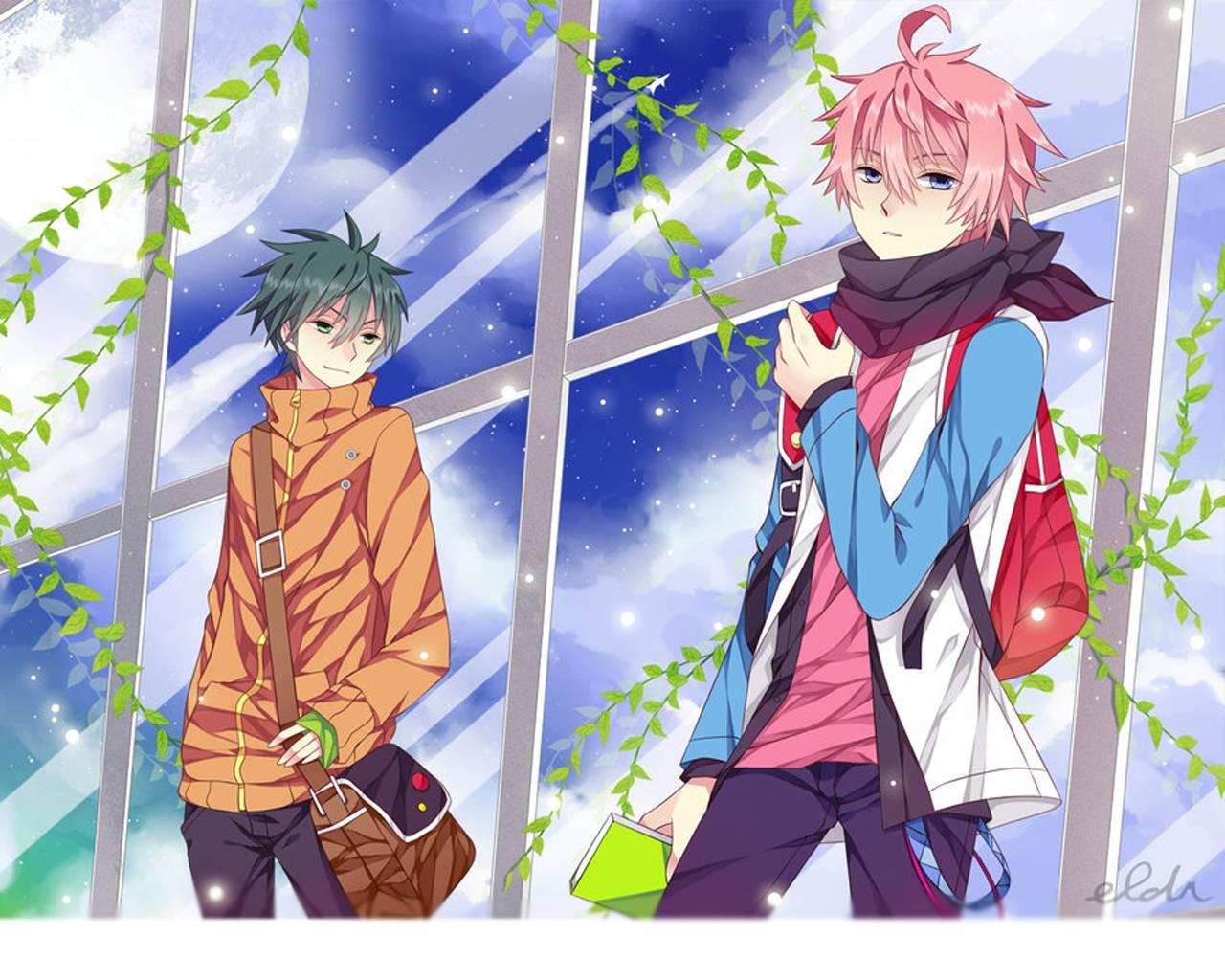 young boy Cute anime