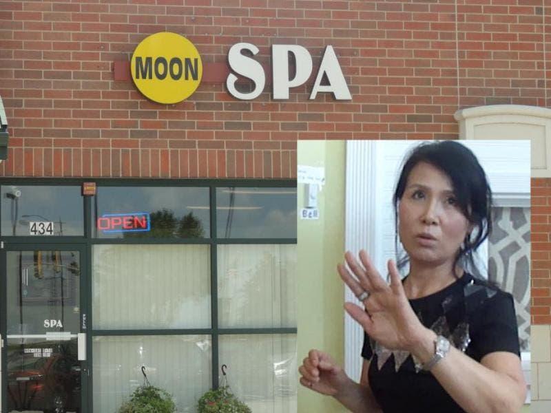 washington in state massage Asian