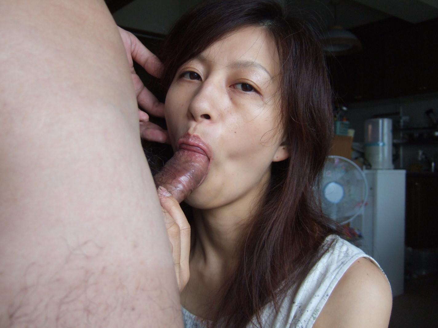 Chinese woman fucking white man