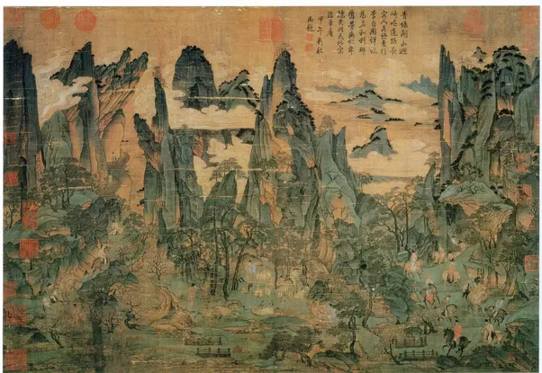 impossible nude western art chinese Aesthetics