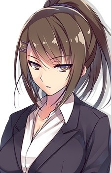 elder woman Anime with mature