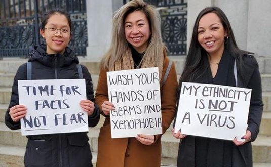discrimination for asian americans of Examples