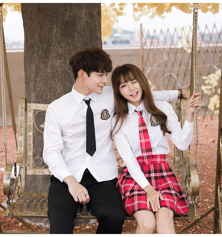 boys Asian girl college