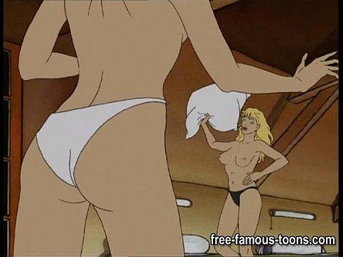videos sex Lesbian anime