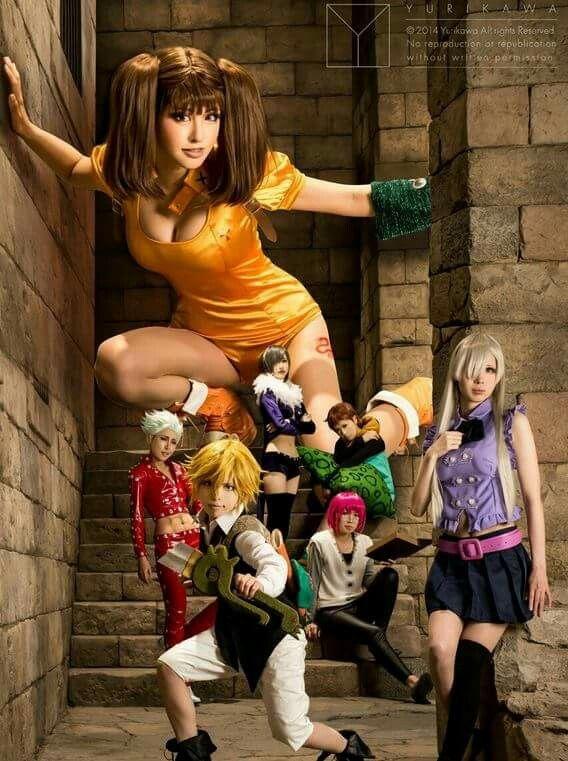 deadly anime cosplay sins Seven