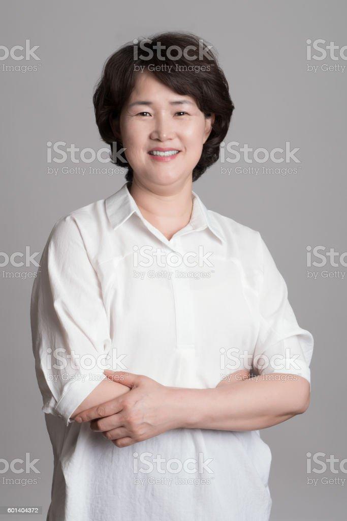 Korean mature woman