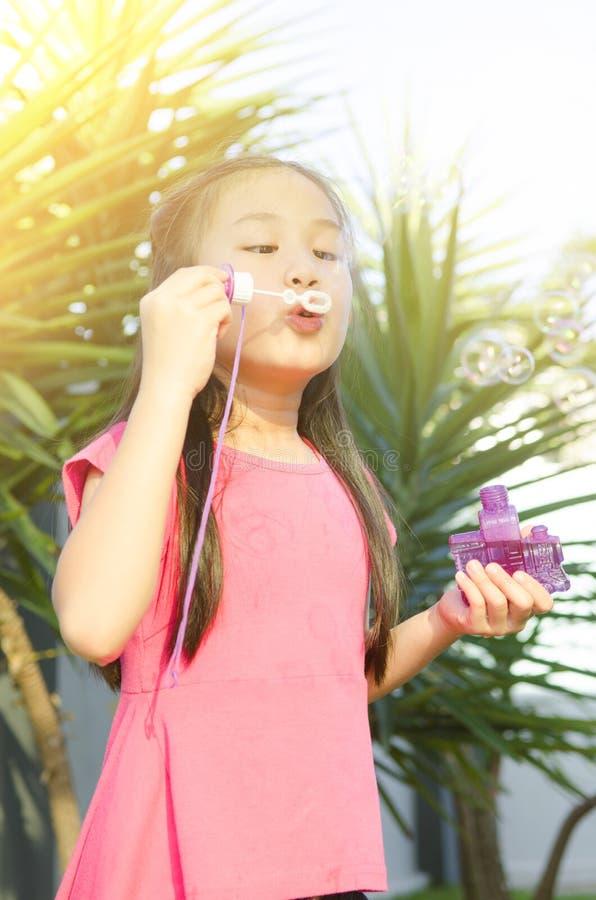 bubble Asian wanking outdoor