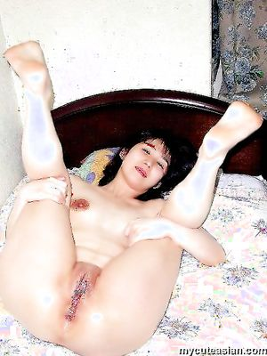 shaved wife asian Otngagged