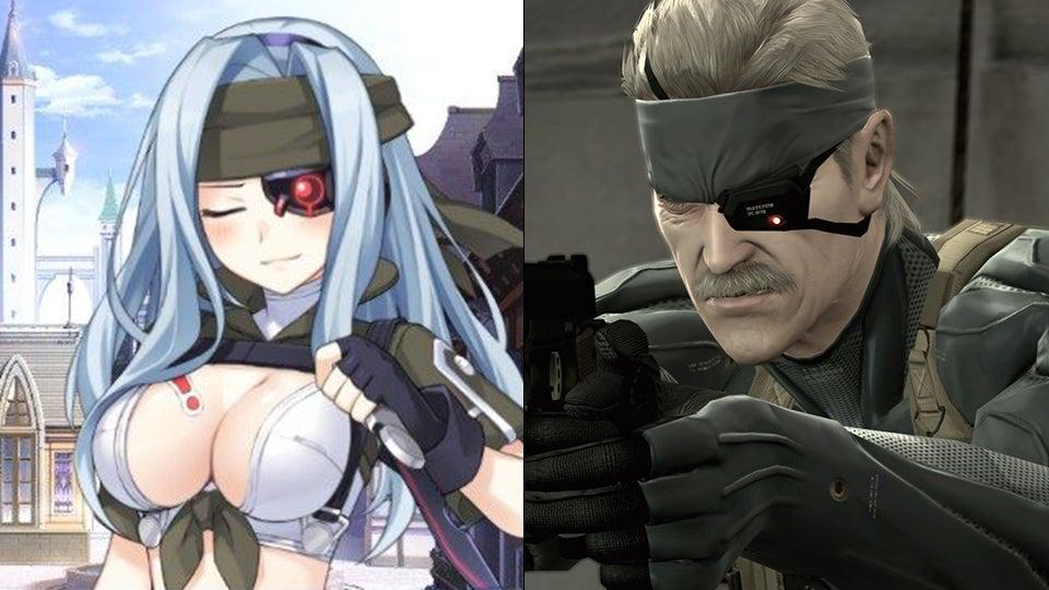 Anime girl video games