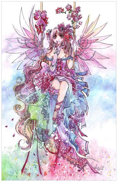 fairies pixies Anime and