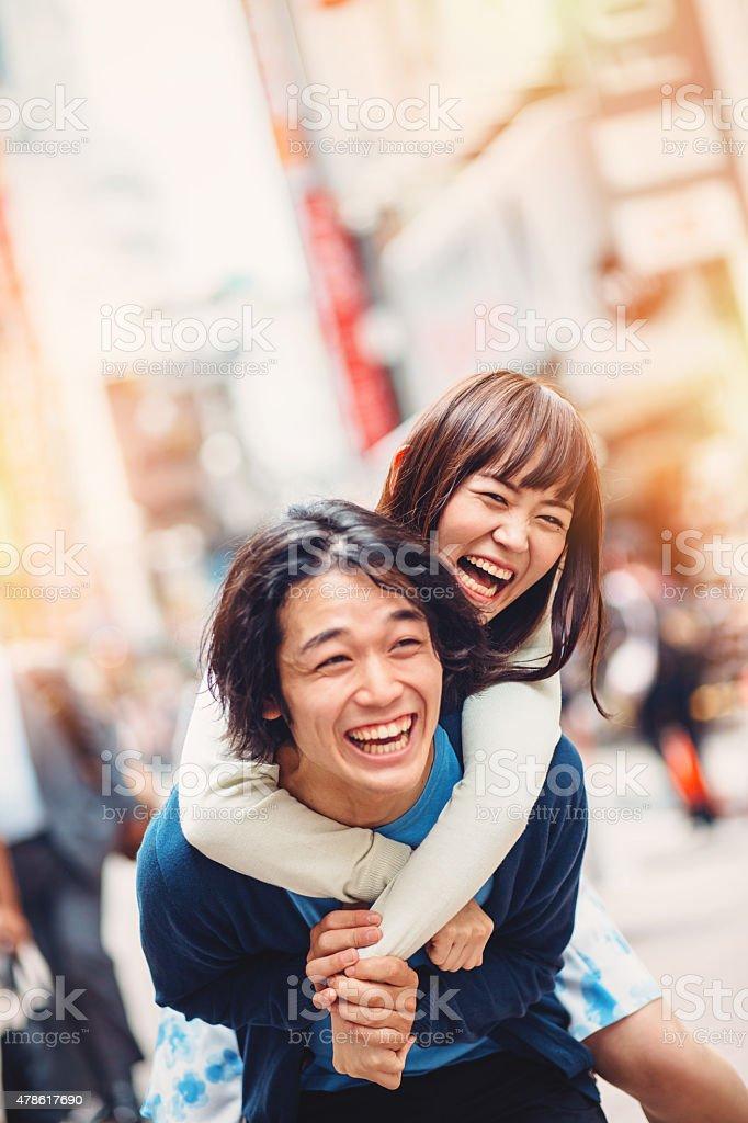 happy in japan Be