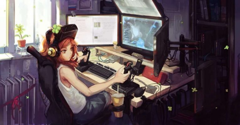 games video Anime girl