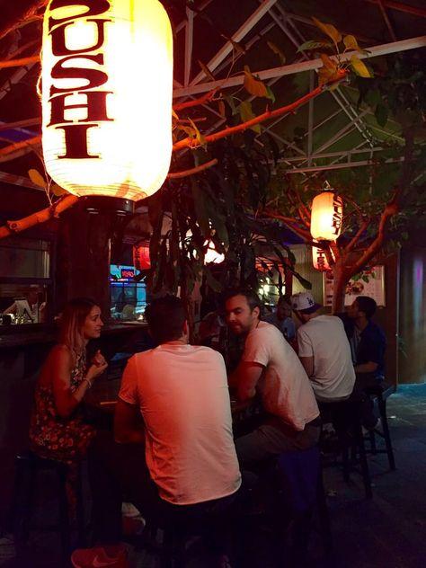 bar tapas yatai Asian
