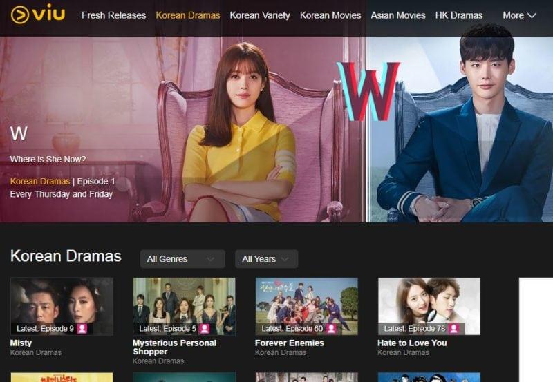 Korean drama online all in