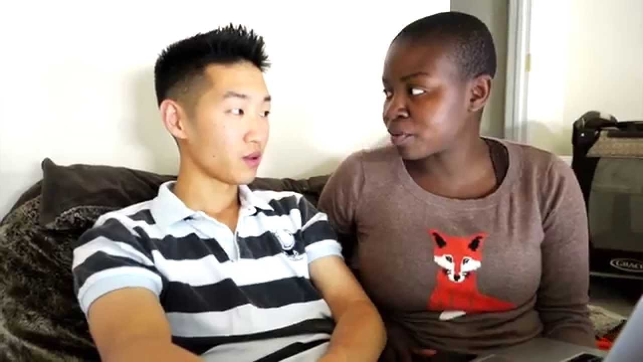 girl guy chinese Black dating