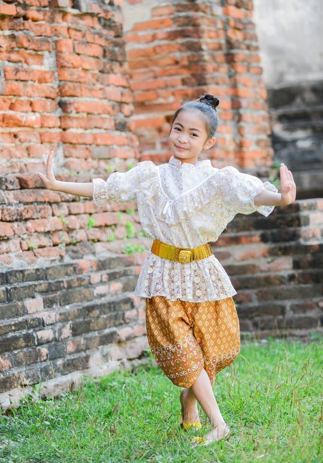 dancing Cute asian girl