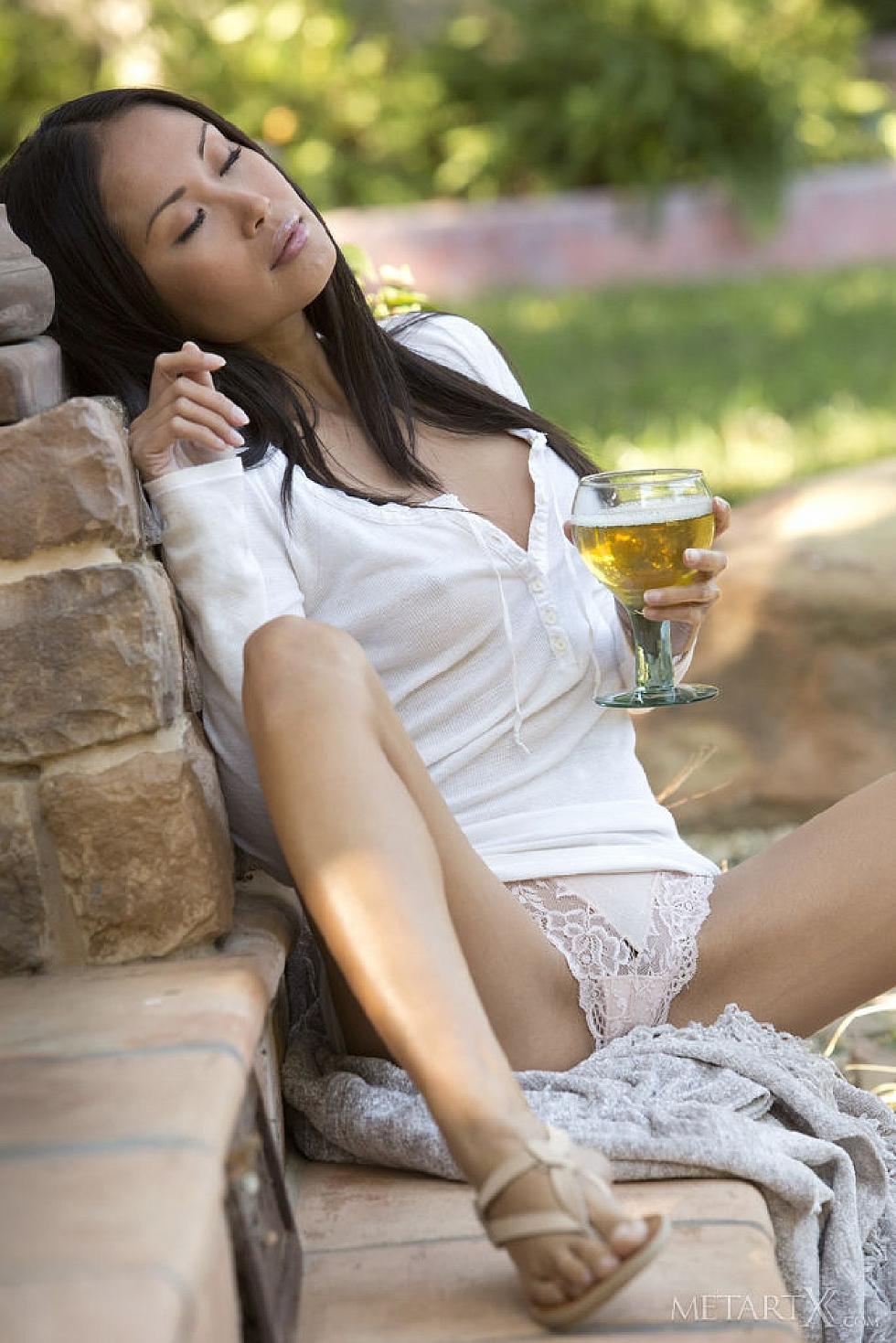 asian busty outdoor Watching