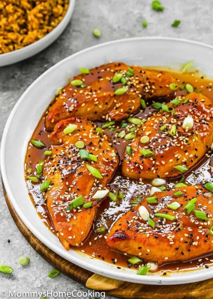 Asian chicken breast recipe