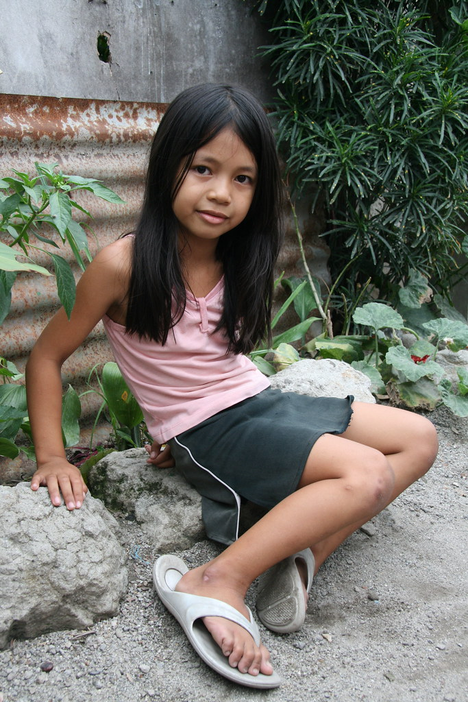 Shared asian cute long hair