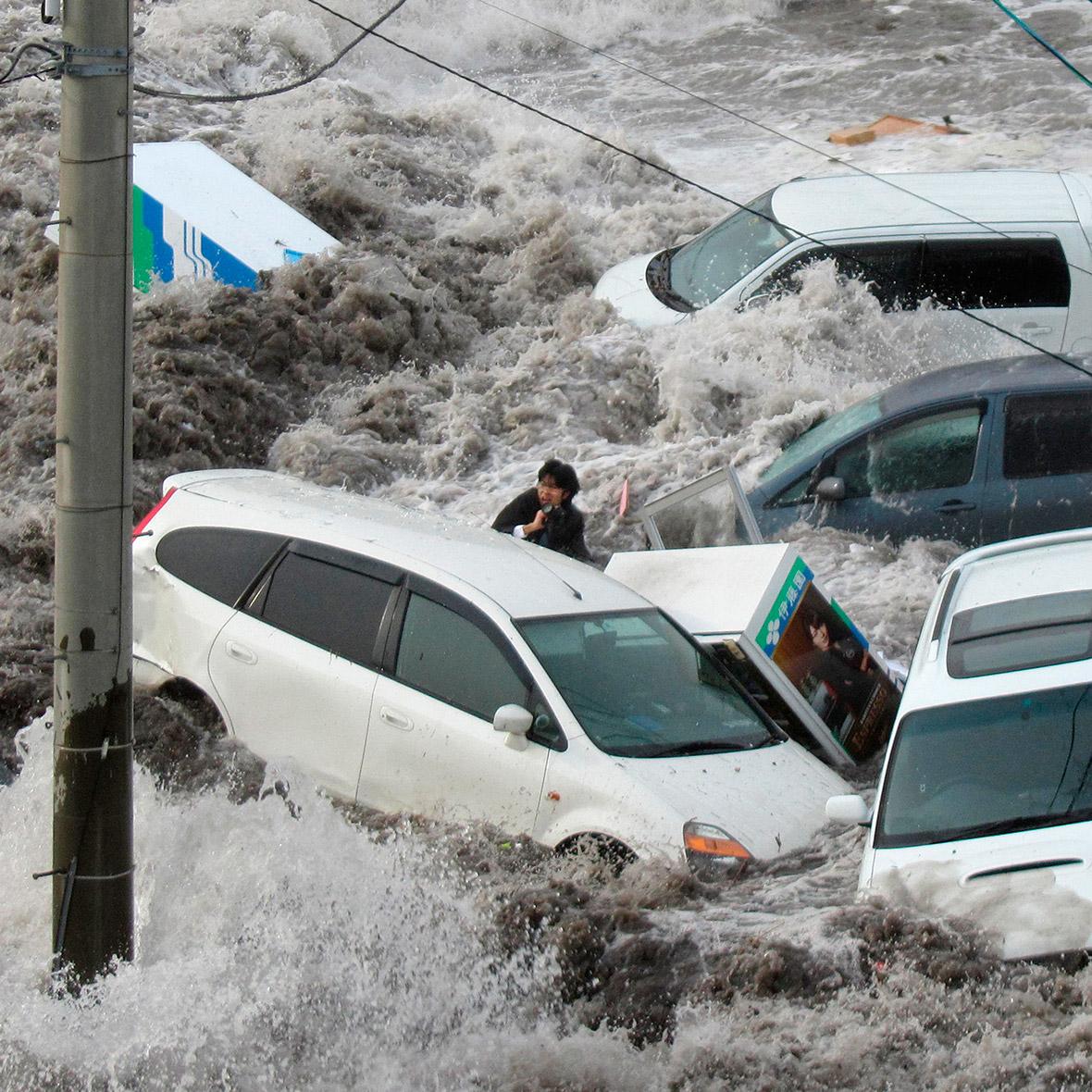 tsunami An in and japan earthquake