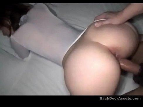 POV wife cum announcement asian