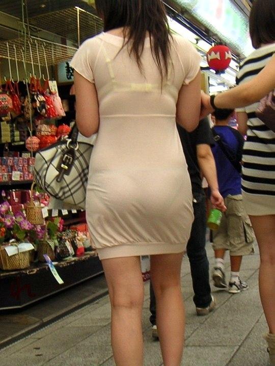 Asian girl in white pantie