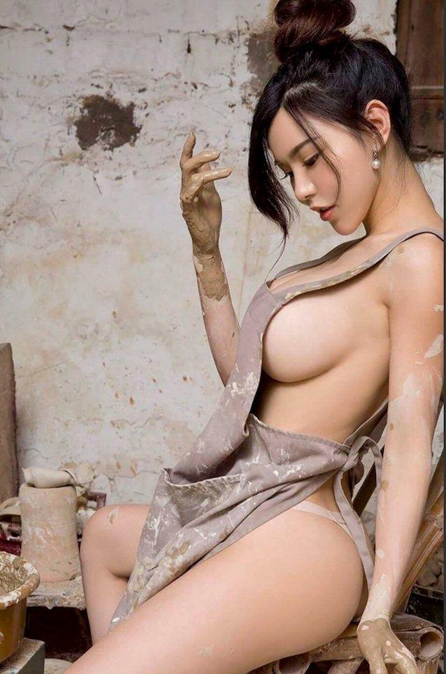Anime girl lingerie