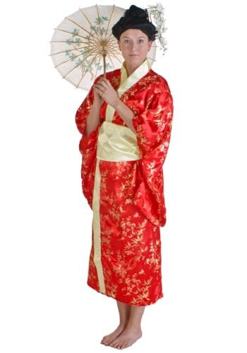costume Chinese geisha girl