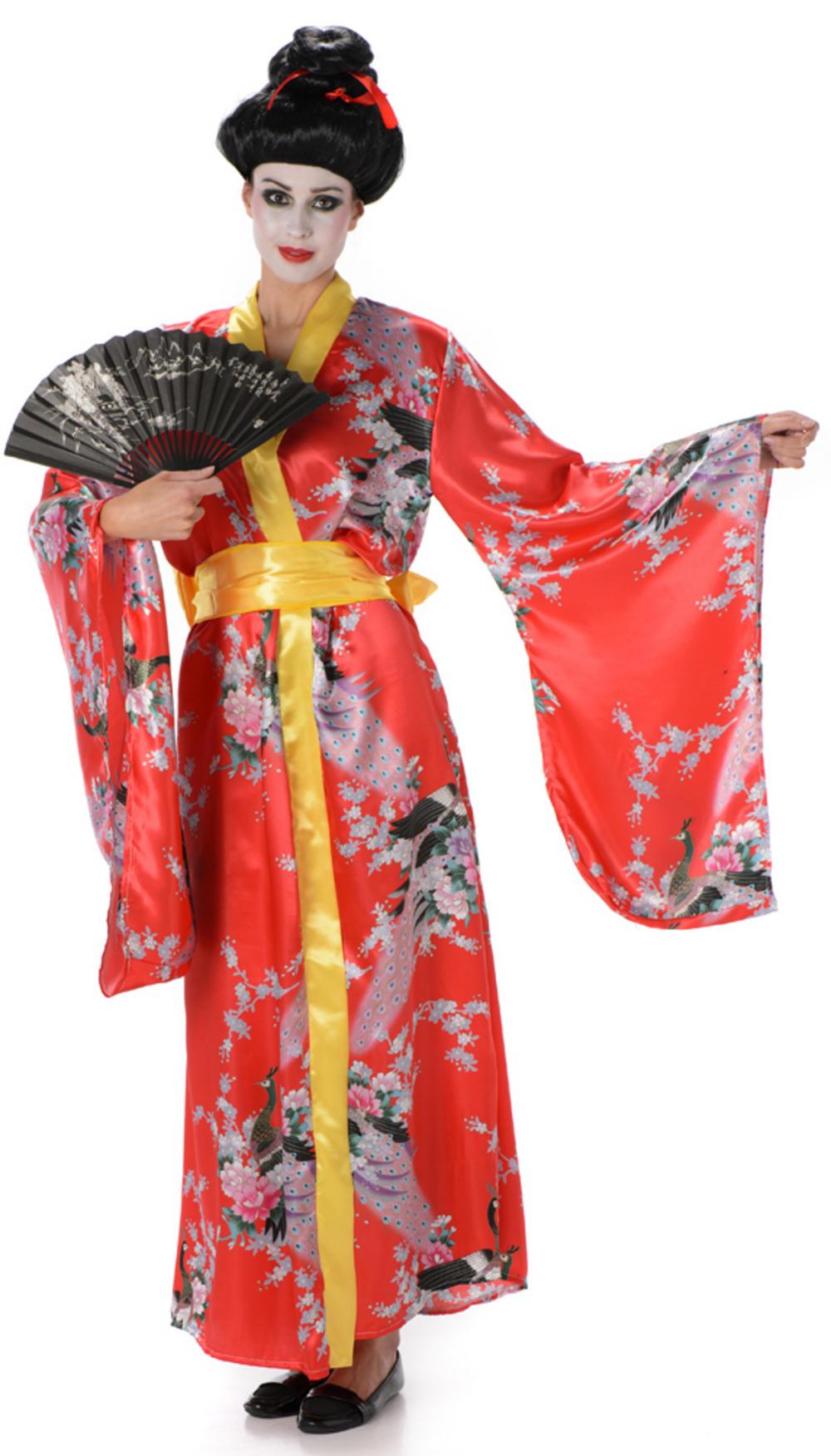 Chinese geisha girl costume