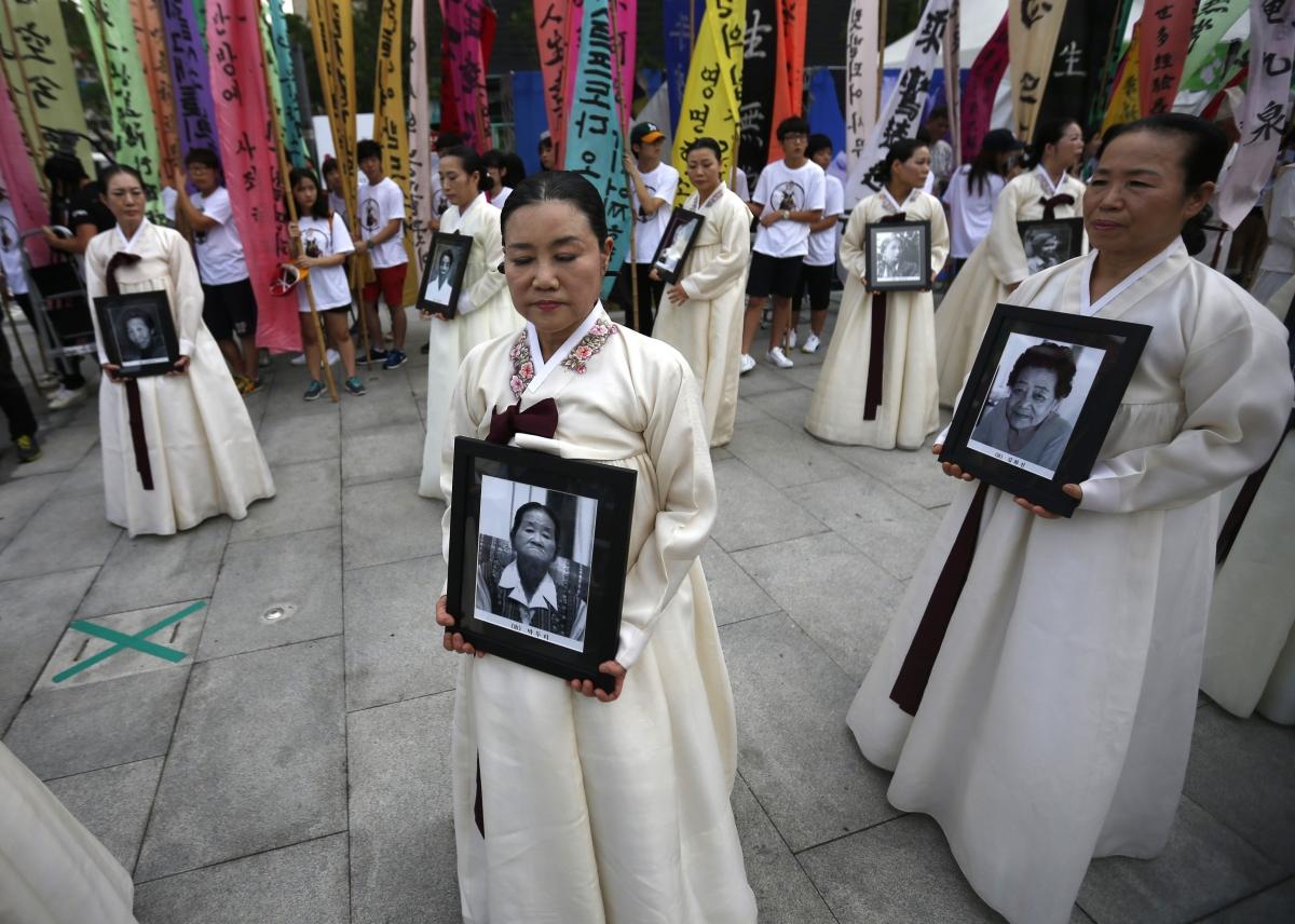 Korean sex slaves during japanese occupation