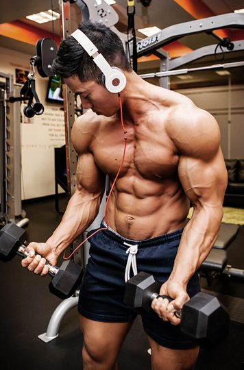 How to build asian muscle