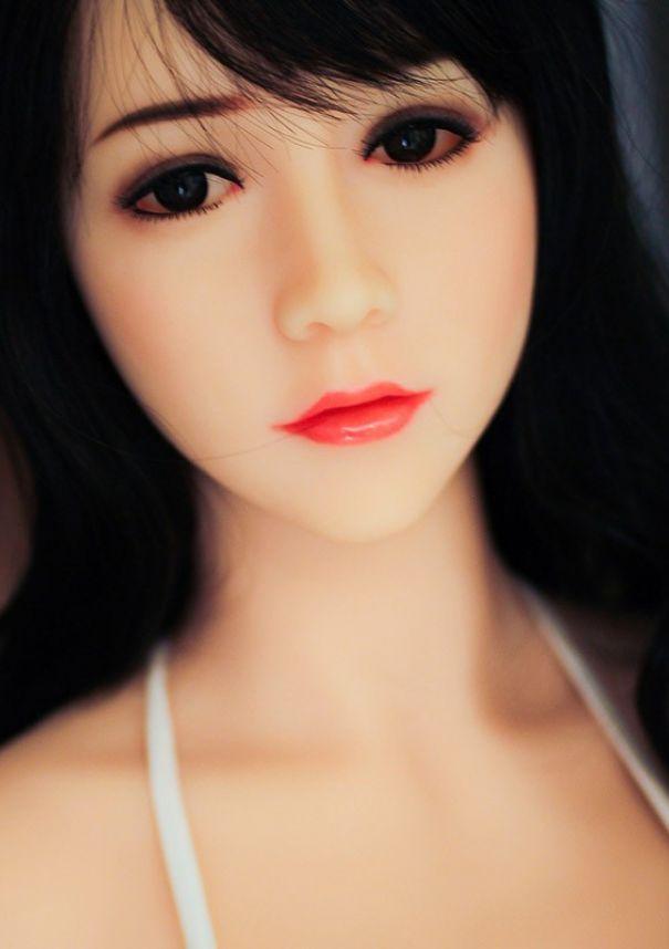 Asian skinny dirty talk long hair
