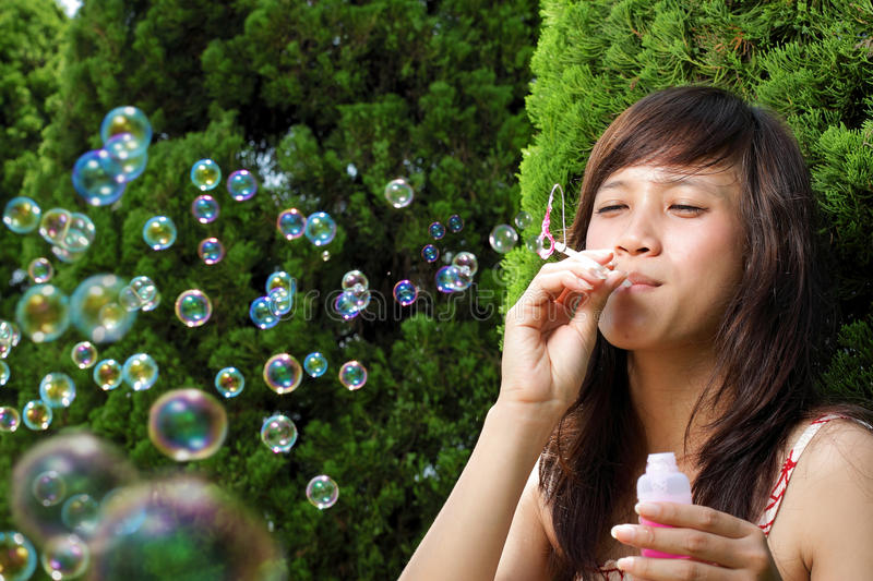 asian otngagged young Bubble