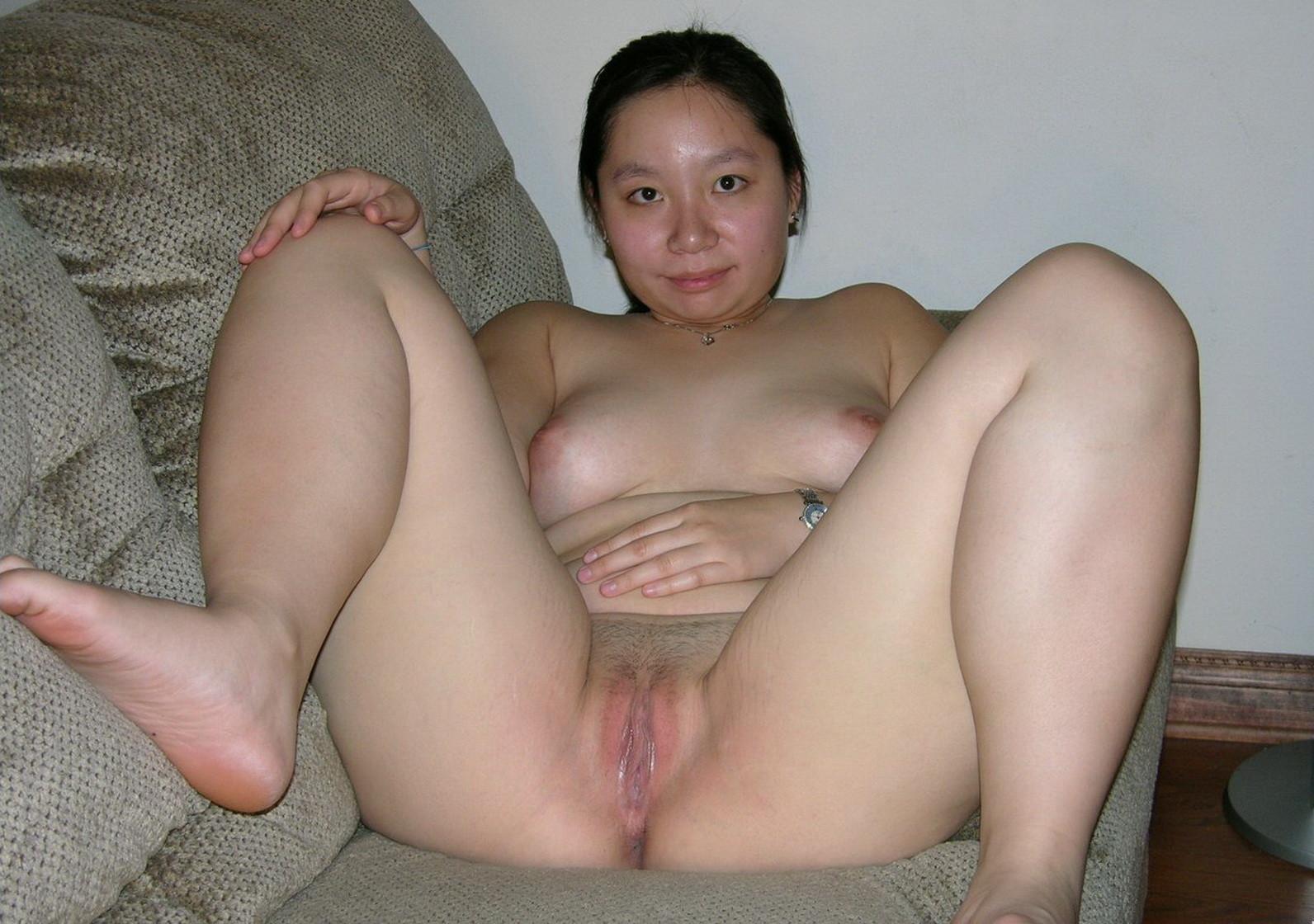 Chubby asian girl naked