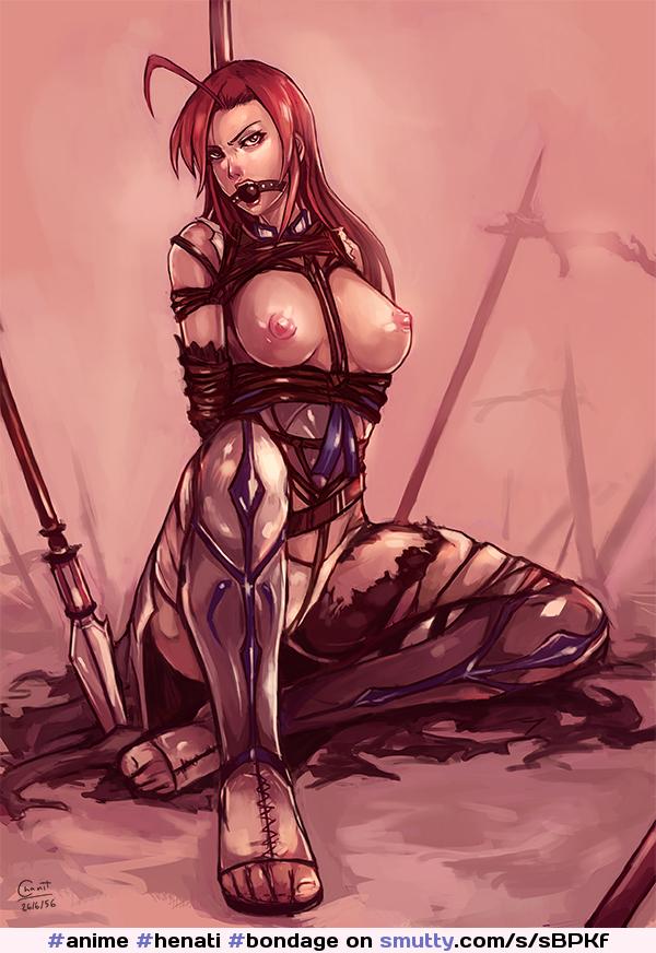 bound Hentai warrior