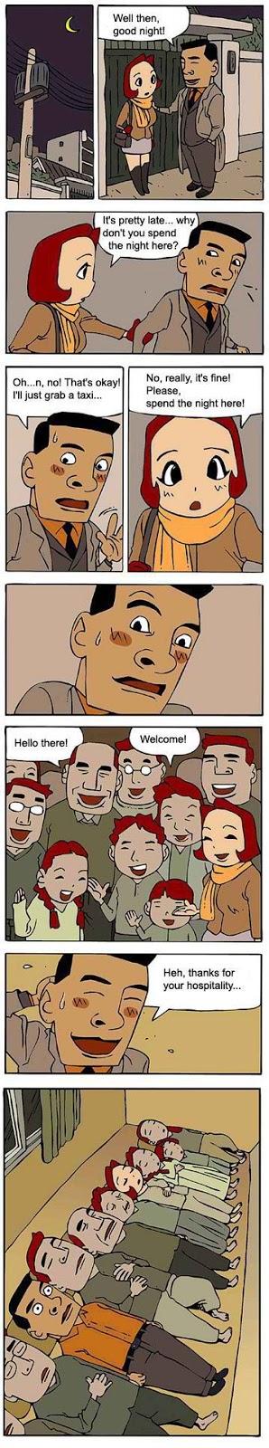 Korean comic strip