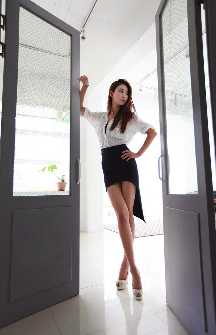 asian Long secretary hair dickforlily
