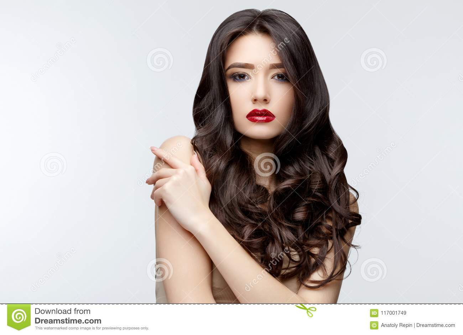 skinny asian curly Long hair