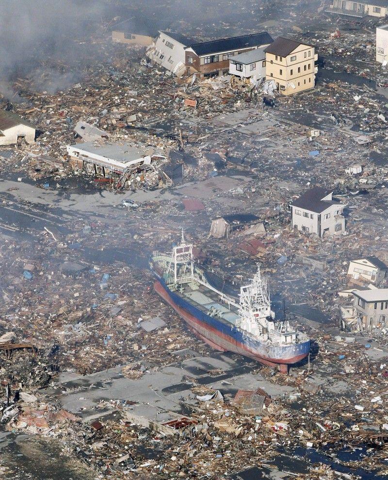 japan and tsunami earthquake The