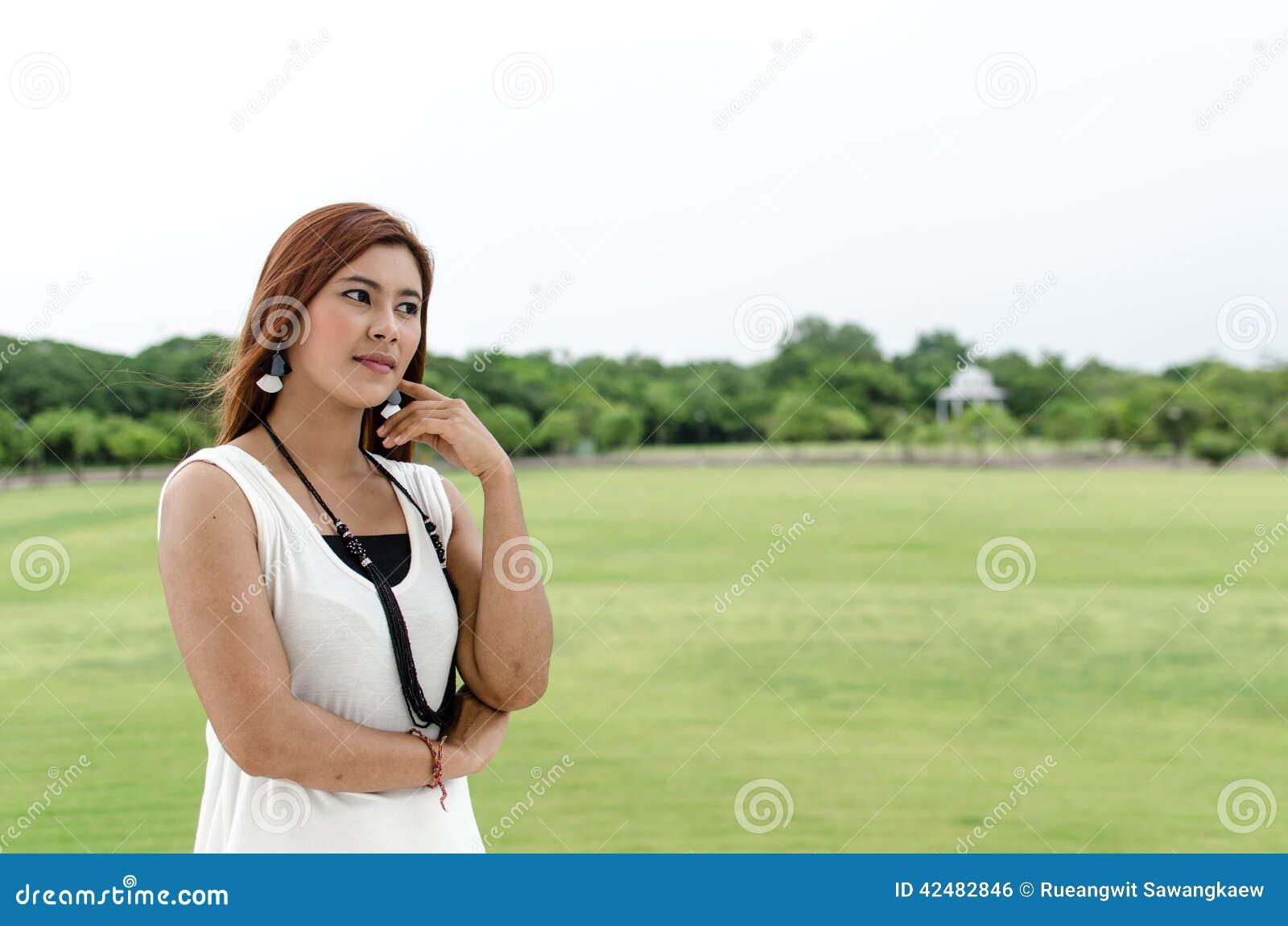 redhead outdoor asian Virgin